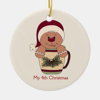 Little Boy's Gingerbread Ornament
