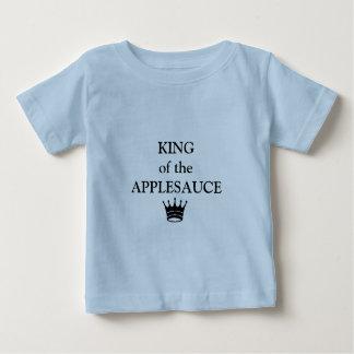 "little boys shirt ""KING of the APPLESAUCE"""