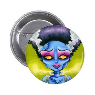 Little Bride of Frankenstein 6 Cm Round Badge