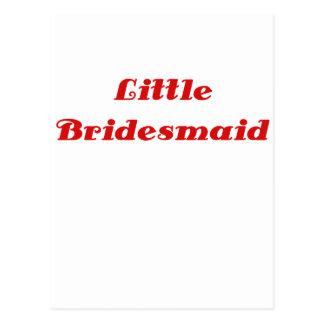 Little Bridesmaid Post Card