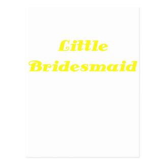 Little Bridesmaid Postcard