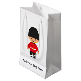 Little British Royal Guard Small Gift Bag