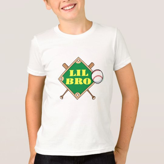 Little Bro Baseball Diamond T-Shirt