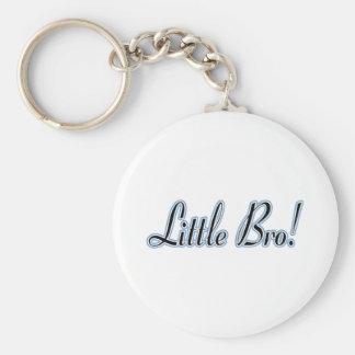 Little Bro! Basic Round Button Key Ring
