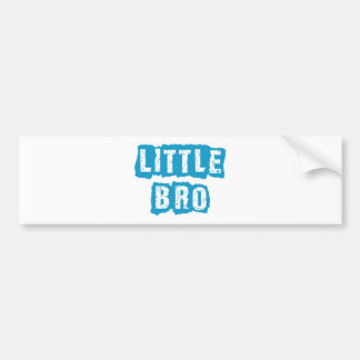 Little bro bumper sticker
