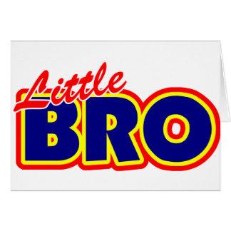 Little Bro Card