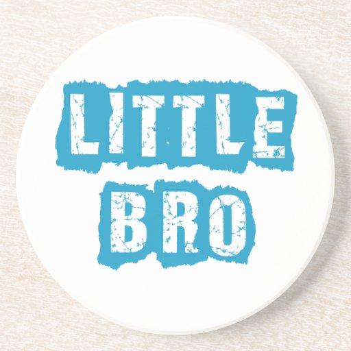 Little bro drink coasters