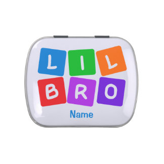Little Bro custom candy tins