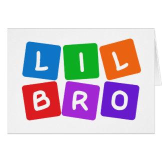 Little Bro custom cards