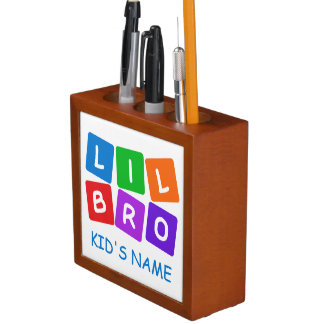 Little Bro custom desk organizer Pencil/Pen Holder