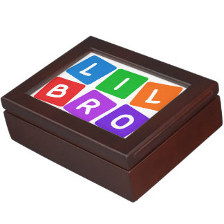 Little Bro custom keepsake box