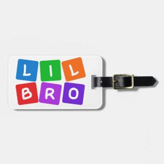 Little Bro custom luggage tag