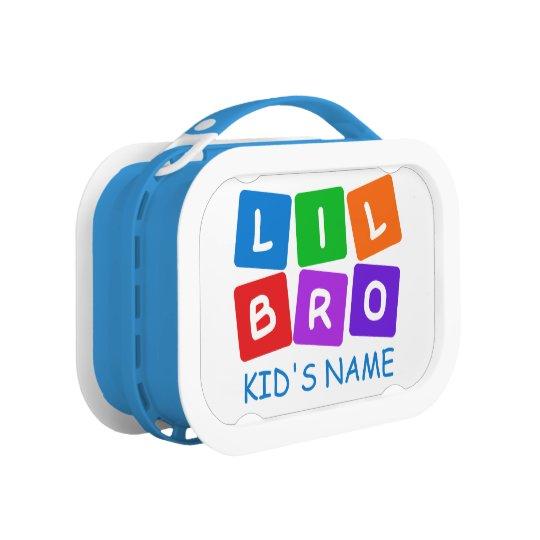 Little Bro custom lunch box