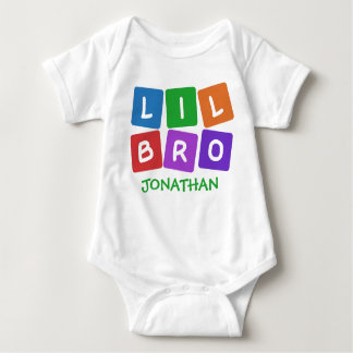 Little Bro CUSTOM NAME clothing Shirts