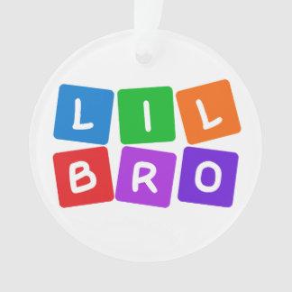 Little Bro custom ornament