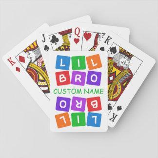 Little Bro custom playing cards