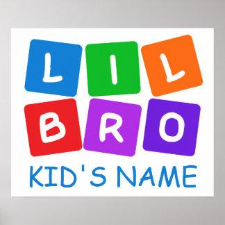 Little Bro custom poster