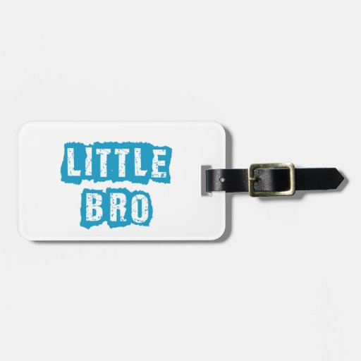 Little bro tags for luggage