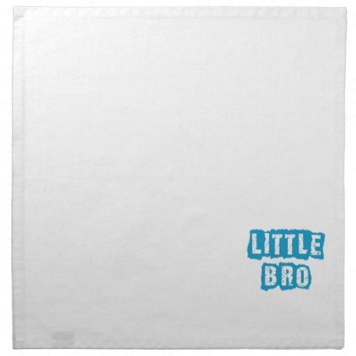 Little bro cloth napkin