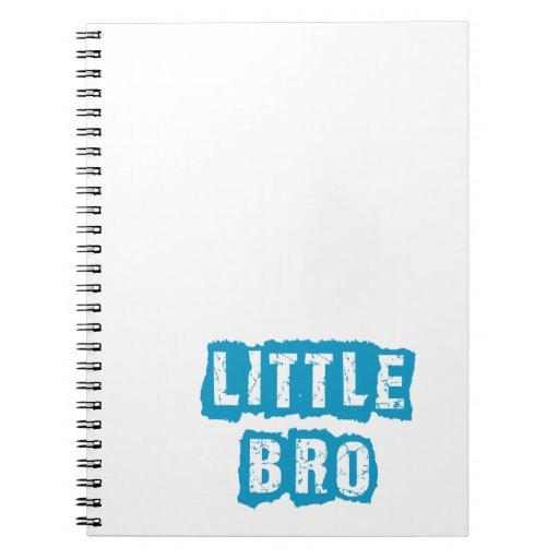 Little bro spiral notebook