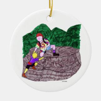 """""""Little Bro"""" Ornament"""