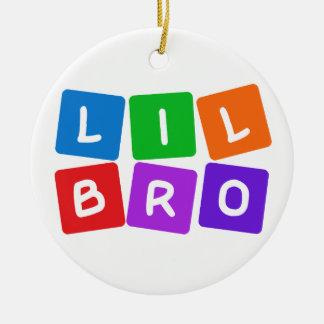 Little Bro ornaments