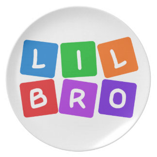 Little Bro plate