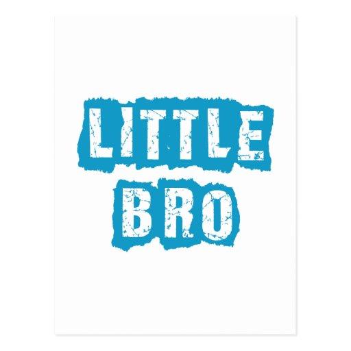 Little bro postcards