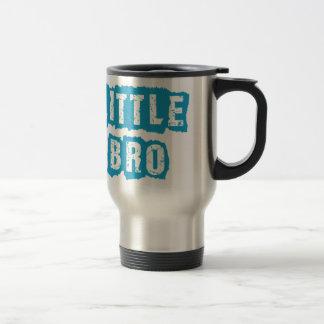 Little bro stainless steel travel mug