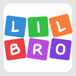 Little Bro stickers