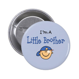 Little Brother  Face 6 Cm Round Badge