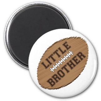 Little Brother Football Magnet
