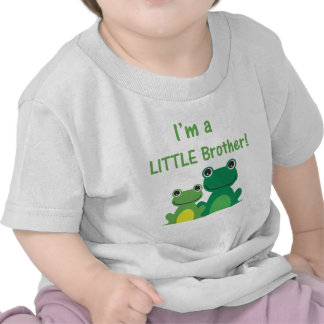 Little Brother Frog Sibling T (Green/Green) T-shirt