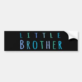 Little Brother in blue Bumper Sticker