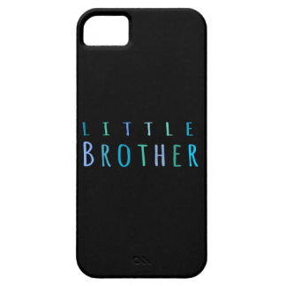 Little Brother in blue Case For The iPhone 5