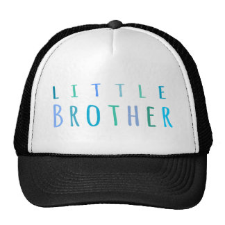 Little Brother in blue Mesh Hat