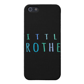 Little Brother in blue iPhone 5/5S Case