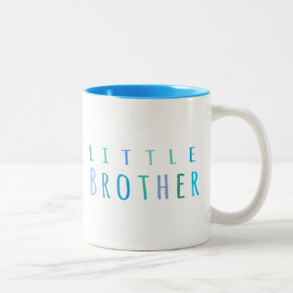 Little Brother in blue Coffee Mug