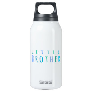 Little Brother in blue 10 Oz Insulated SIGG Thermos Water Bottle