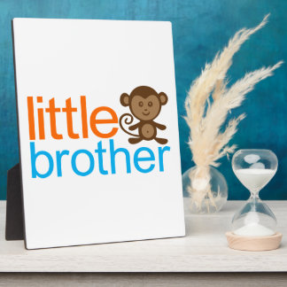 Little Brother Monkey Photo Plaques