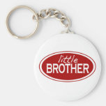 Little Brother (oval) Basic Round Button Key Ring