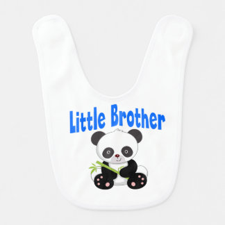 Little Brother Panda Baby Bib
