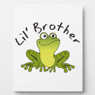 LITTLE BROTHER PHOTO PLAQUE