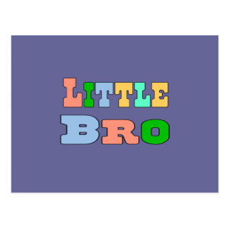 Little Brother Postcard
