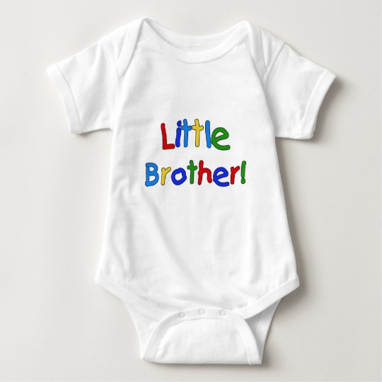 Little Brother Primary Colours Tshirts and Gifts