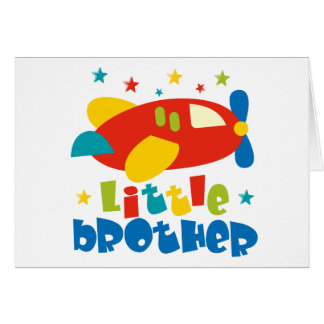 Little Brother Stars Plane Card
