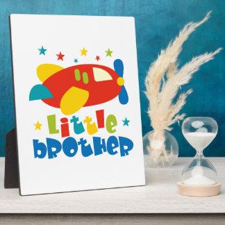 Little Brother Stars Plane Photo Plaque