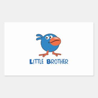 LITTLE BROTHER RECTANGULAR STICKER