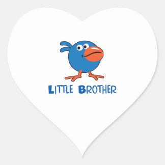 LITTLE BROTHER HEART STICKER