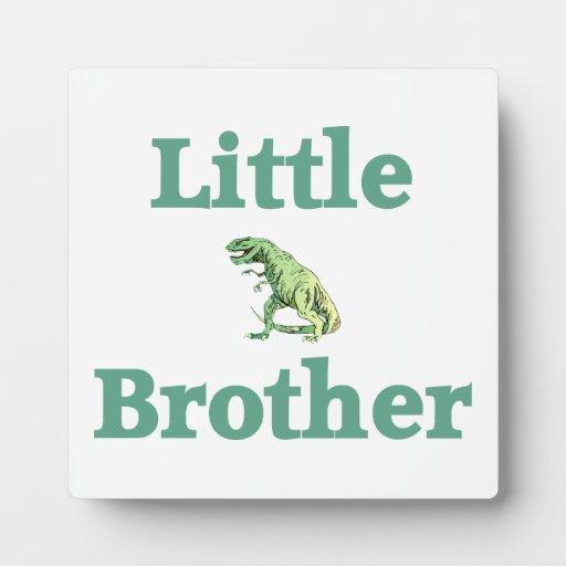 Little Brother T-Rex Dinosaur Photo Plaques